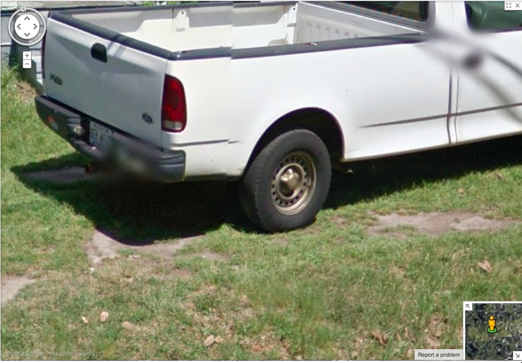 Street View of Truck